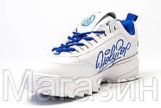Женские кроссовки Fila Disruptor 2 White HolyPop Фила Дисраптор 2 белые, фото 3