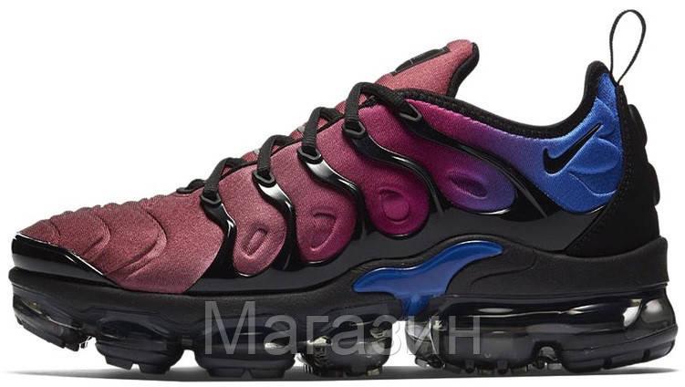Мужские кроссовки Nike Air Vapormax Plus Black/Hyper Violet Найк Вапормакс Плюс