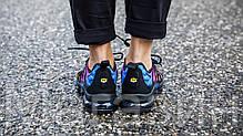 Мужские кроссовки Nike Air Vapormax Plus Black/Hyper Violet Найк Вапормакс Плюс, фото 2