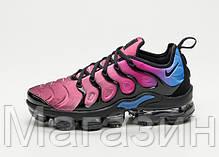 Мужские кроссовки Nike Air Vapormax Plus Black/Hyper Violet Найк Вапормакс Плюс, фото 3