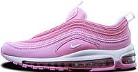 Женские кроссовки Nike Air Max 97 Pink Найк Аир Макс 97 розовые