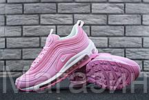 Женские кроссовки Nike Air Max 97 Pink Найк Аир Макс 97 розовые, фото 2