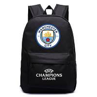 Рюкзак футбольный клуб Manchester City черный, фото 1