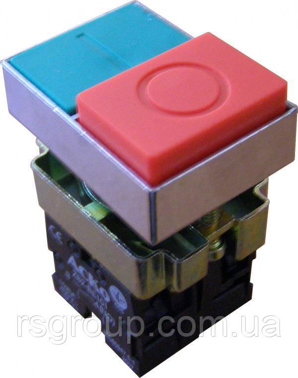 Кнопка двойная XB2-BL9425 без подсветки