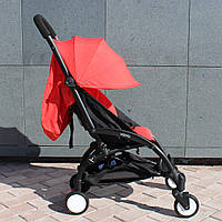 Yoya 175 A+ Red Красная Прогулочная детская коляска 2в1 (0-36 мес.) Алюминиевая