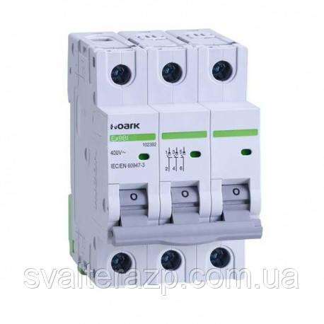 Автоматический выключатель 3Р С10 EX9BS NOARK