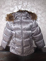 Куртка зимняя для девочки на холлофайбере Стелла