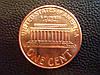 """1 цент США 2008 года, Линкольн """"Мемориал Линкольна"""""""