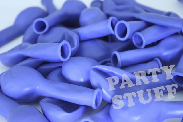 Воздушные шары пастель барвинок