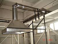 Монтаж изделий из нержавеющей стали. Киевская область