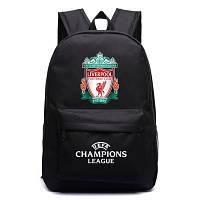 Рюкзак футбольный клуб Liverpool черный, фото 1