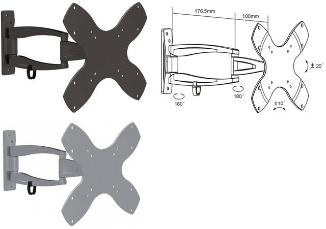 Наклонно-поворотные крепления (кронштейны)
