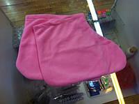 Носки флис (1 пара) розовый