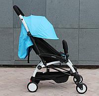 Yoya 175 A+ Sky Blue Бирюзовая (Голубая) Прогулочная детская коляска 2в1 (0-36 мес.) Алюминиевая