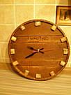 """Настенные часы из дерева """"пробка"""", фото 4"""