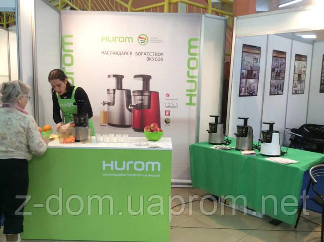 Hurom - украшение выставки Мебель и Интерьер