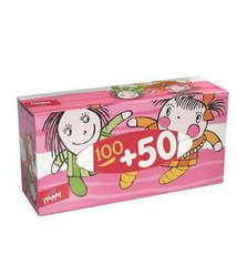 Бумажные салфетки универсальные Bella Baby Happy (100+50 шт.)