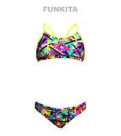 Раздельный купальник для девочек Funkita Spray On FS02, фото 1