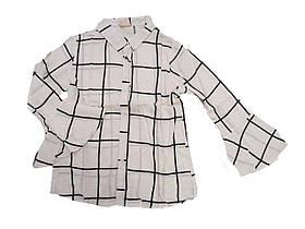 Рубашка-туника для девочек оптом, Glo-story, размеры 110-160, арт. Код: GCS-6195