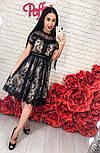 Женское красивое кружевное платье , фото 2