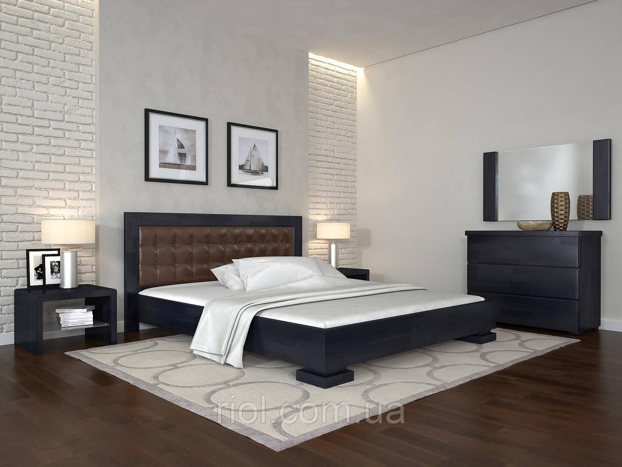 Кровать деревянная Монако полуторная