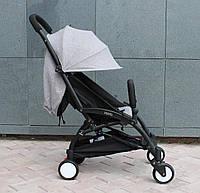 Yoya 175 A+ Gray Серая Прогулочная детская коляска 2в1 (0-36 мес.) Алюминиевая