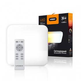 Светодиодный функциональный светильник Videx Smart 36Вт Квадрат