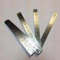 Метр складной 1000 мм металлический