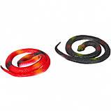 Змея резиновая  60 см, фото 2