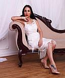 Женское красивое платье с бахромой (3 цвета), фото 6