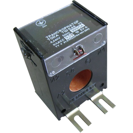 Трансформатор тока ТШ-0,66 250/5 0,5s