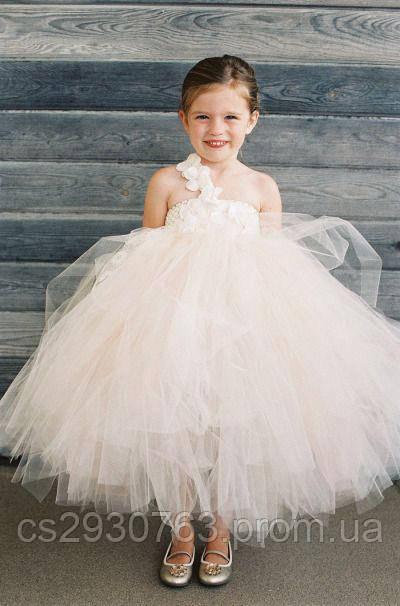 52bd121b855 Нарядное пышное платье для девочки