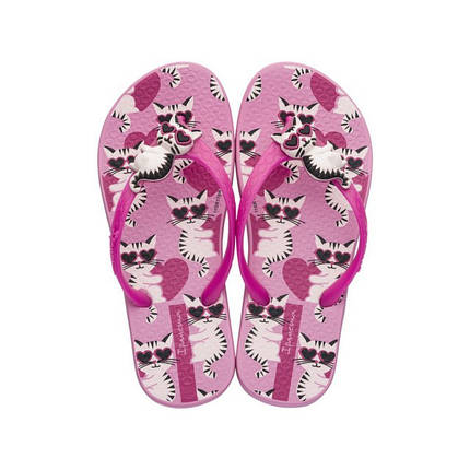 Оригинал Вьетнамки Детские для девочки 82400-21532 Ipanema Pets Kids Pink, фото 2