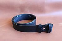Классический гладкий ремень шириной 38 мм.(без пряжки). Артикул СК 9026, фото 1