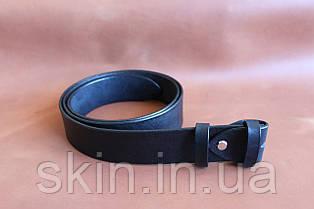 Классический гладкий ремень шириной 38 мм.(без пряжки). Артикул СК 9026