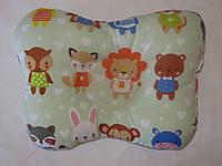 Подушка для новорожденных зверушки