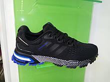 Мужские кроссовки Adidas Marathon 2018 black blue