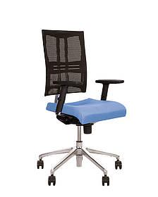 Кресло офисное E-Motion R механизм ES крестовина AL32 спинка сетка РХ-1, сиденье ткань LS-17 (Новый Стиль ТМ)