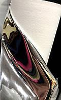 Кожзам (зеркало) серебро