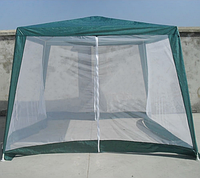 Тент шатер 3х3 м с москитной сеткой