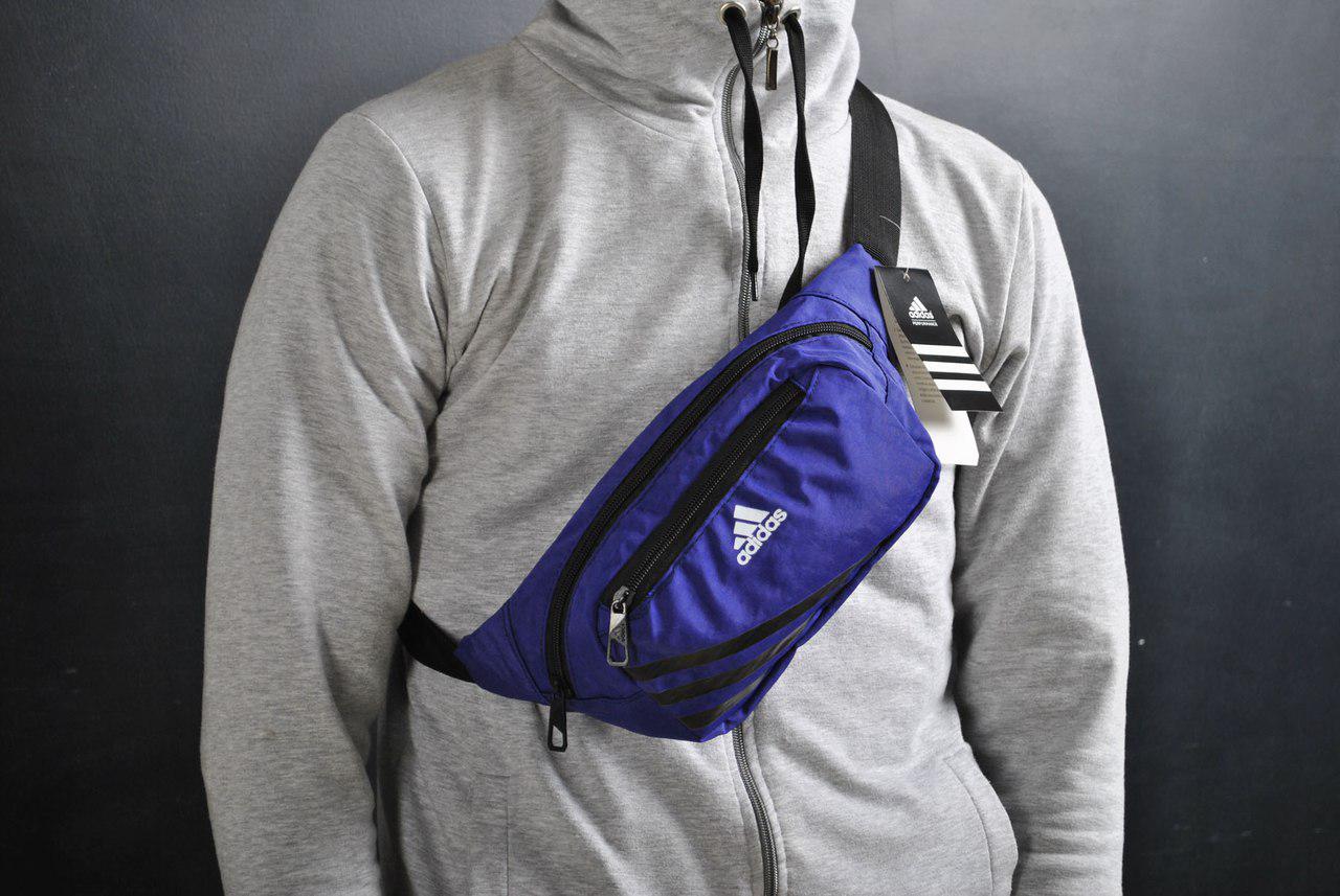 f7fbe4b76f78 Сумка На Пояс (Поясная сумка,Бананка) Adidas фиолетовая - Компания