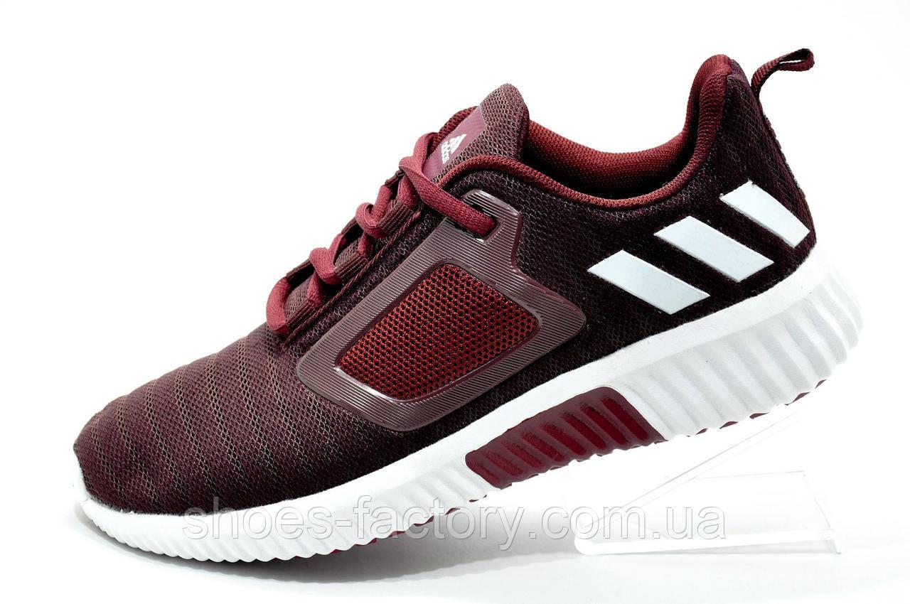 Беговые кроссовки в стиле Adidas Climacool Cm, Бордовые