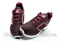 Беговые кроссовки в стиле Adidas Climacool Cm, Бордовые, фото 3