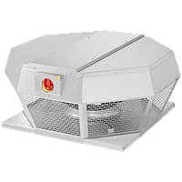 Крышный вентилятор в алюминиевом корпусе DHA 450 ECP 30