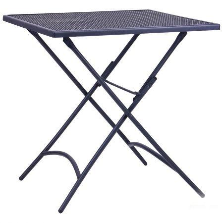 Металлический складной стол Пуату hy-t7990-70s (сталь сетка om-005 темно серый 7547)
