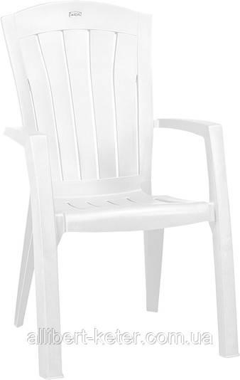 Крісло-стілець SANTORINI білий (Allibert)