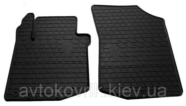 Резиновые передние коврики в салон Peugeot 107 2005-2014 (STINGRAY)