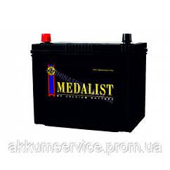 Акумулятор автомобільний Medalist Asia 58AH L+ 510А 75B24RS (Товста клема)
