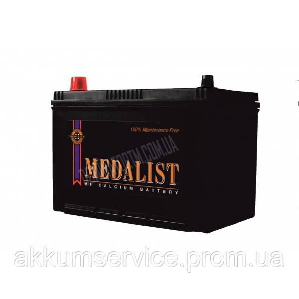 Аккумулятор автомобильный Medalist 65AH R+ азия 75D23L 570А
