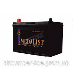 Акумулятор автомобільний Medalist (75D23L) 65AH R+ 570А Asia